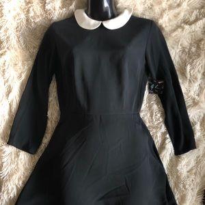 NASTY GAL Wednesday Adams Style Dress!